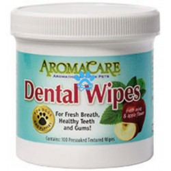 Teeth cleaning wipes